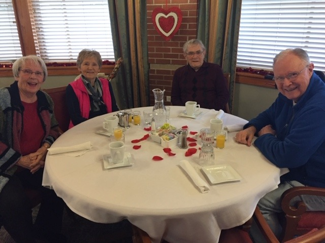 Dining services at United Presbyterian Home in Washington, Iowa