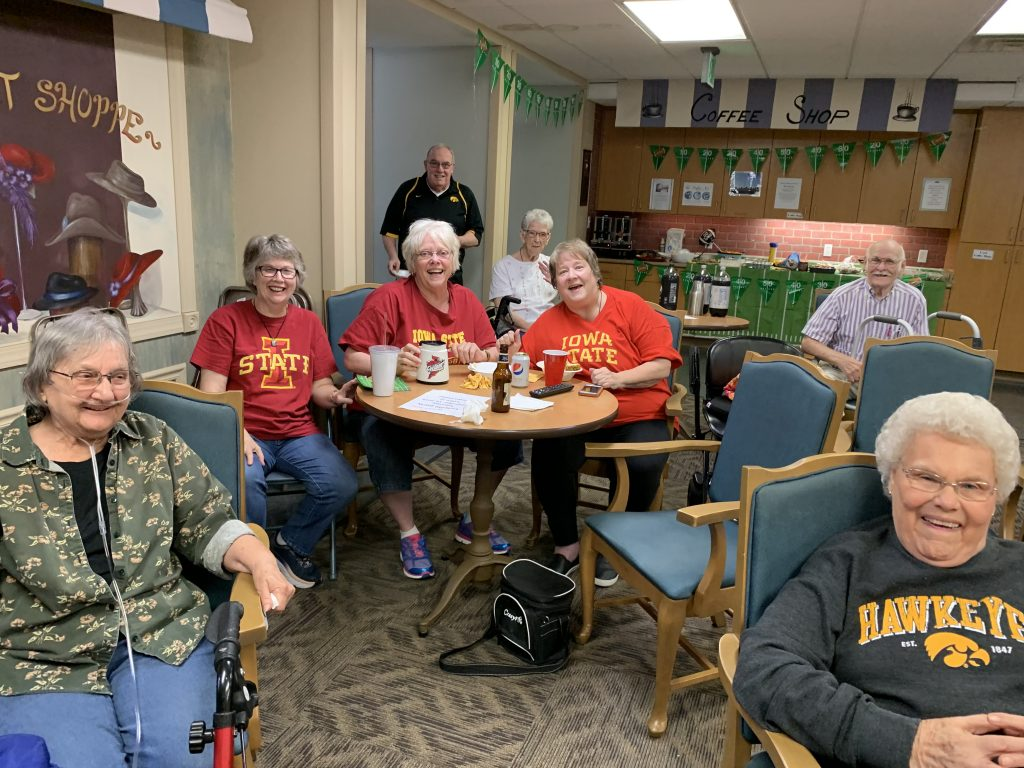Activities at United Presbyterian Home in Washington, Iowa