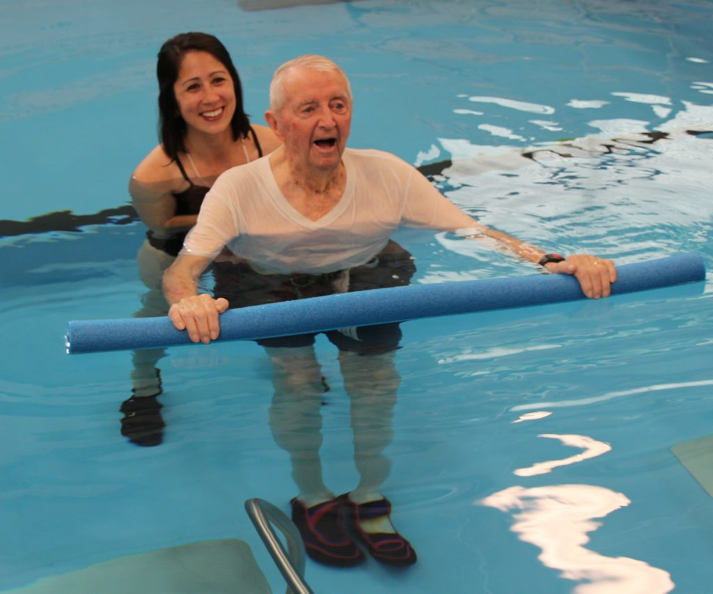 Pool therapy at United Presbyterian Home