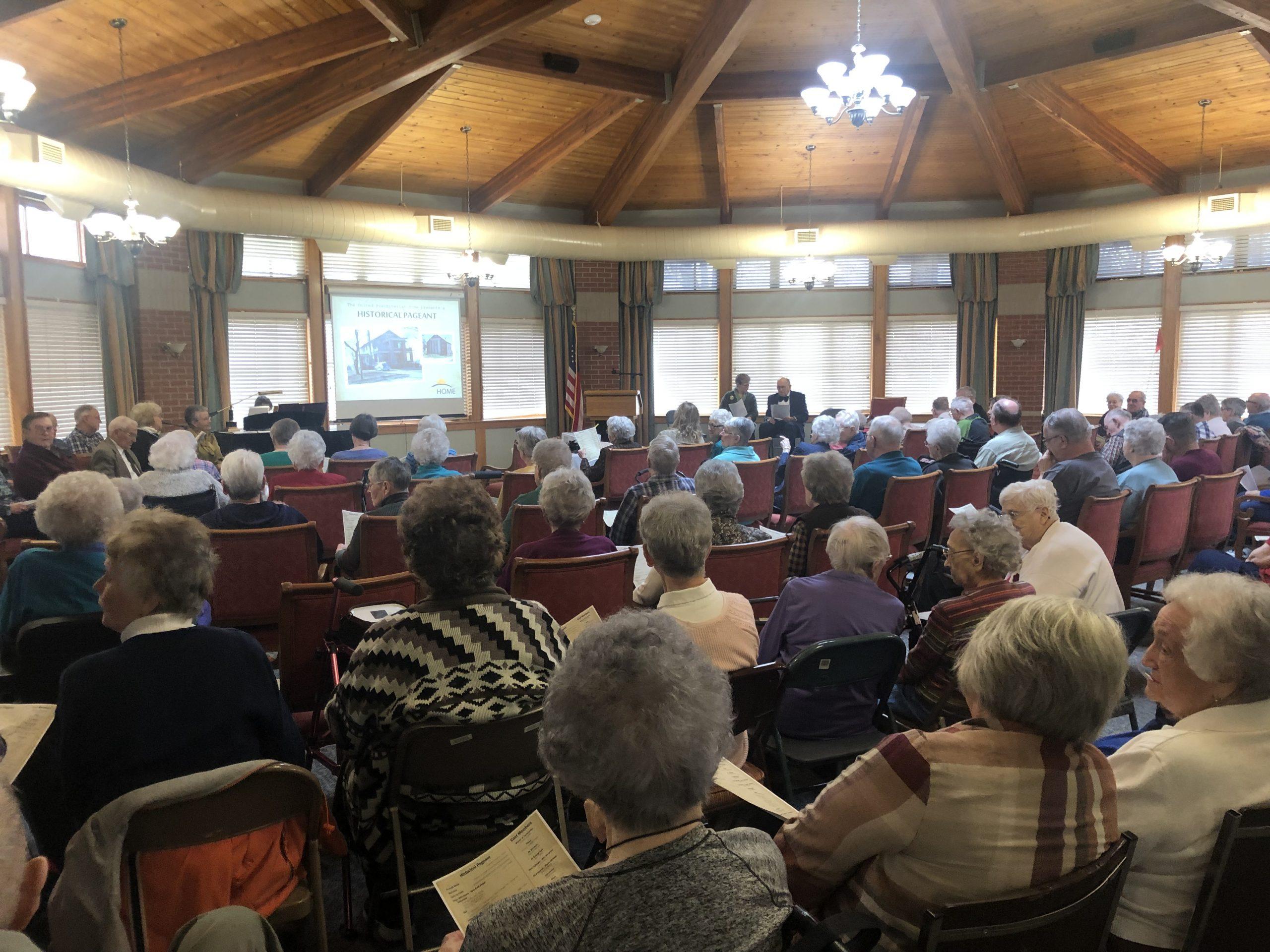 Community at United Presbyterian Home in Washington, Iowa