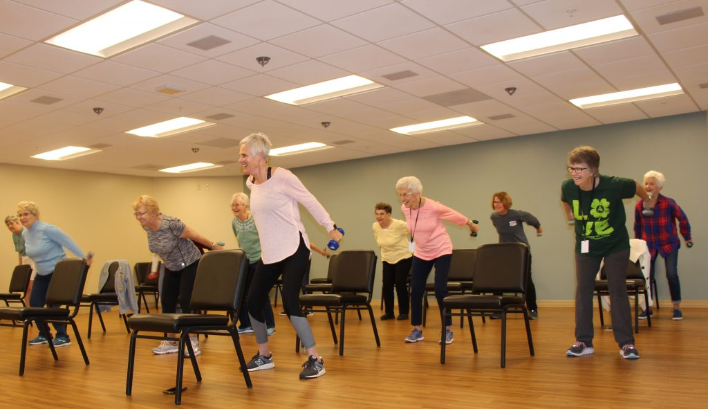 Wellness and fitness at United Presbyterian Home in Washington, Iowa